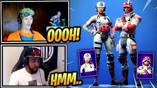 NINJA & STREAMERS REACT *NEW* FIELD SURGEON & TRIAGE TROOPER SKINS! - Fortnite Epic & Funny Moments