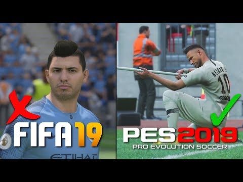 9 THINGS THAT ARE BETTER IN PES 2019 THAN FIFA 19!