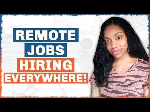 10 Real Work From Home Jobs. No Sales. NOW HIRING Everywhere.(Always Hiring)