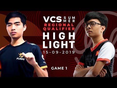 FL vs LK HighLights [VCS Mùa Hè 2019][Regional Qualifier][15.09.2019][Ván 1]