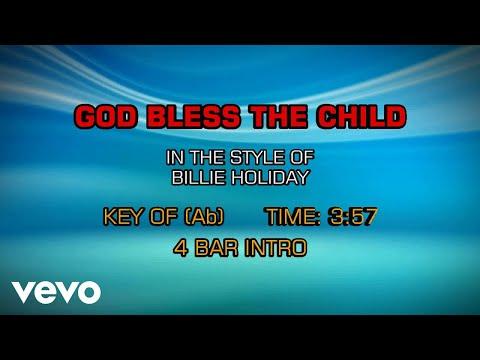 Billie Holiday  God Bless The Child Karaoke