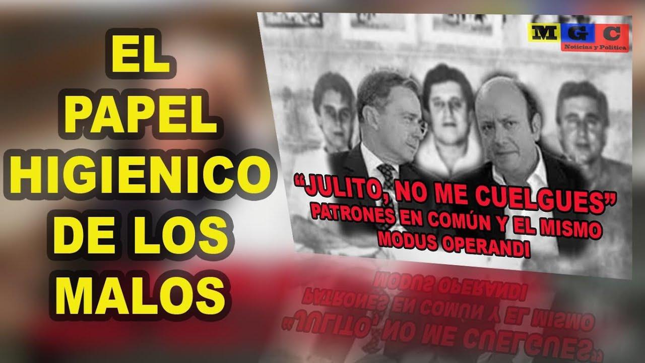 """""""JULITO"""" EL PAPEL HIGIÉNICO DE LOS MALOS"""