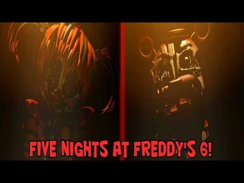 FIVE NIGHTS AT FREDDY'S 6?!? (Freddy Fazbear's Pizzeria Simulator) GAMEPLAY!