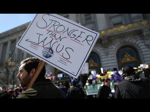 Supreme Court Delivers Blow to Public Sector Unions - Might Make Unions Stronger