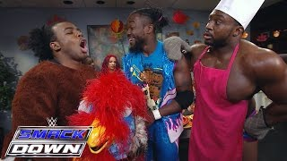 The New Day feiern Thanksgiving: SmackDown — 26. November 2015
