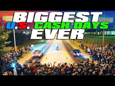$12,000 STREET RACE - 42 Car Cash Days! [Full Movie]