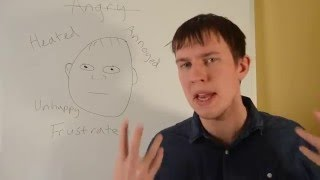 Learn English Vocabulary ANGRY - Learn English Vocabulary ANGRY synonyms
