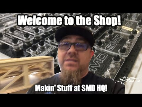 Welcome to the Shop! Makin' Stuff at SMD HQ - Workflow Vlog #2