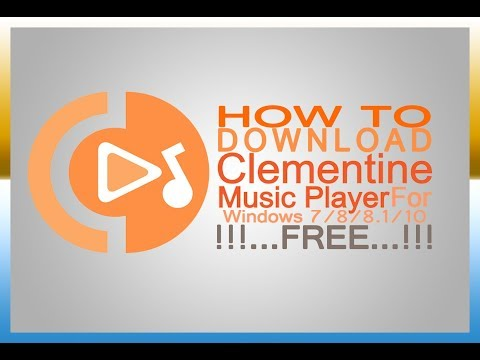 How to download Celemontine Music Player for Windows XP/7/8/8.1/10 Free!!