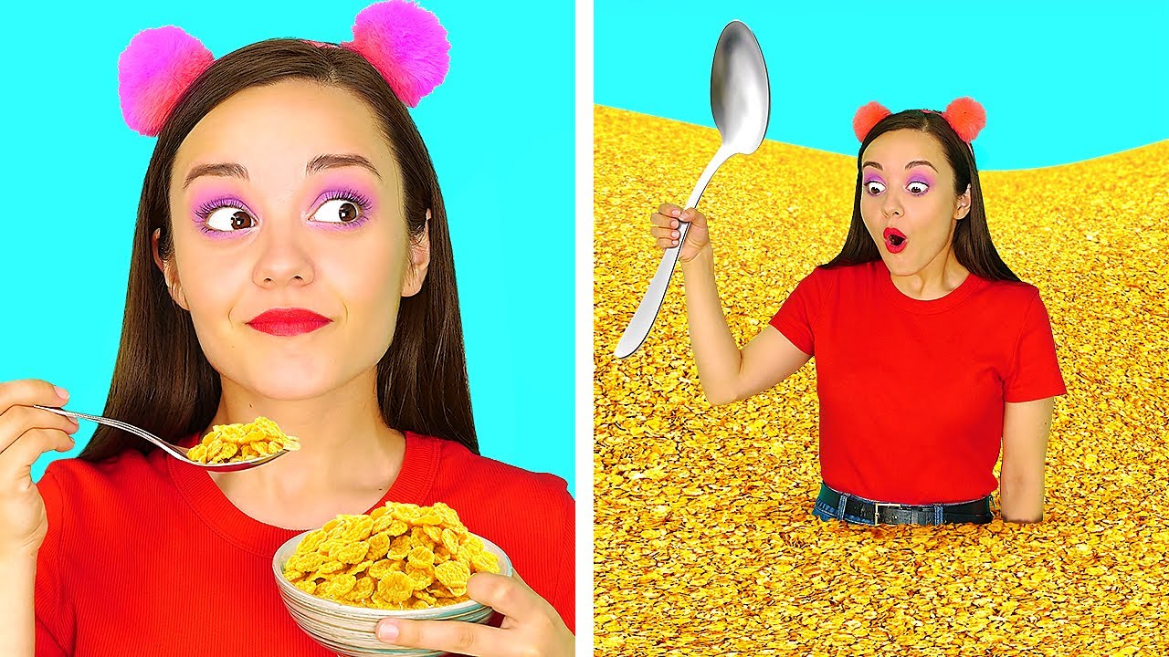 Download AM I GENIUS OR WHAT? || 5 Funny Food And Beauty Life Hacks That Are Actually Genius by 123 GO!SCHOOL