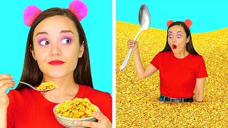AM I GENIUS OR WHAT? || 5 Funny Food And Beauty Life Hacks That Are Actually Genius by 123 GO!SCHOOL