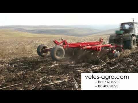 Агрегат почвообрабатывающий комбинированный серии АГК-5,4 (БЕЗ КАТКОВ) - VELES-AGRO™