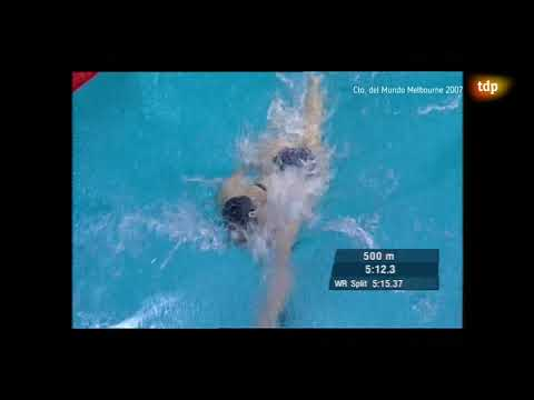 Women's 1500m Freestyle FINAL 2007 World Swimming Championships Melbourne