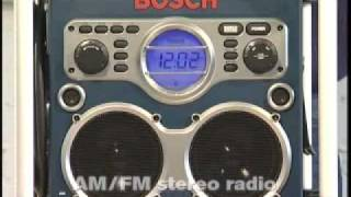 Bosch GML24V Professional Powerbox Radio/Charger