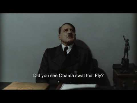 Hitler Reviews: Obama's Fly swatting ability