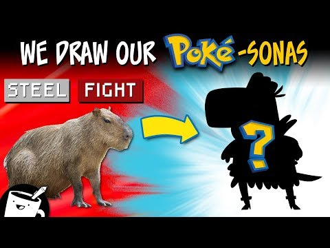 Artists Draw Themselves as Pokémon
