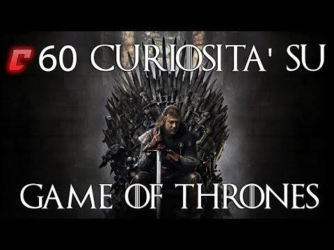 60 curiosità su Game of Thrones