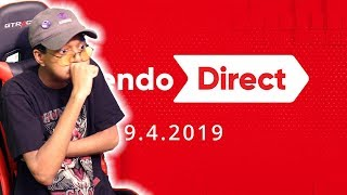 Nintendo Direct 9.4.19 Live Reaction!