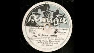 Donna Juanita / Rita Paul, Ilja Glusgal, Walter Dobschinski