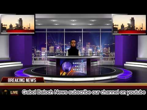 Gabol Baloch News Intro Video World No 1 Local News Channel 2018
