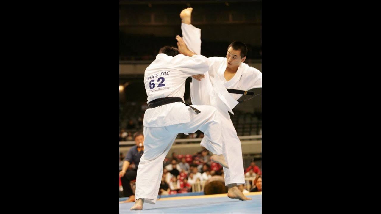 [BEST] Kyokushin Karate KO back spin & other kick - YouTube