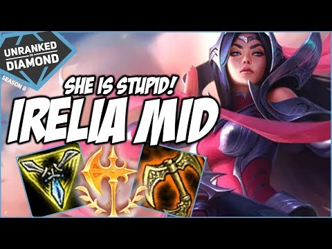 IRELIA MID IS STUPID, RIOT IS IGNORING HER! - Unranked To Diamond - Ep. 150   League Of Legends