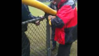 Little League Outfield Fence Protector Installation - Special Tool