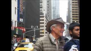 Jack Hanna with Kangaroo in NYC