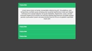 tutorial html 5 y css 3 | crear efecto acordeon