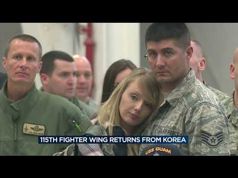 115th Fighter Wing returns from deployment to South Korea