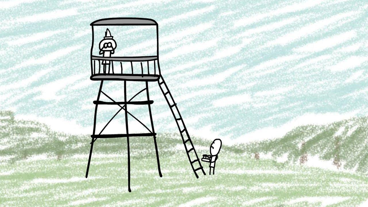 Leśniczy i jelonki – animacja Dem3000