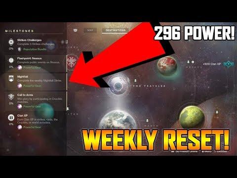 DESTINY 2 WEEKLY RESET WEEK #1!!! - NEW PRESTIGE NIGHTFALL GAMEPLAY! (Destiny 2 Gameplay)