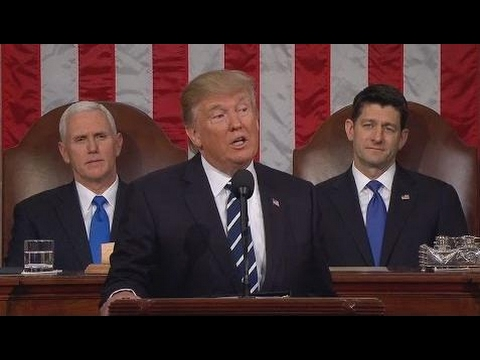 FULL: President Donald Trump Speech to Joint Session Of Congress 2/28/2017 Trump Speech to Congress
