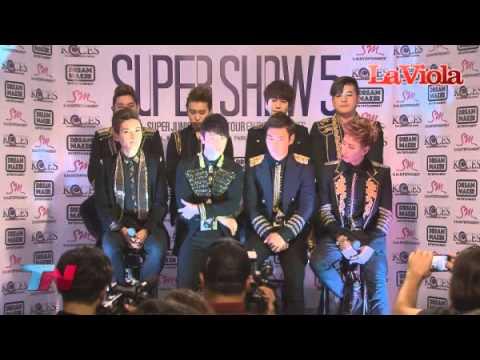 130423 Super Show 5 Argentina Press Conference
