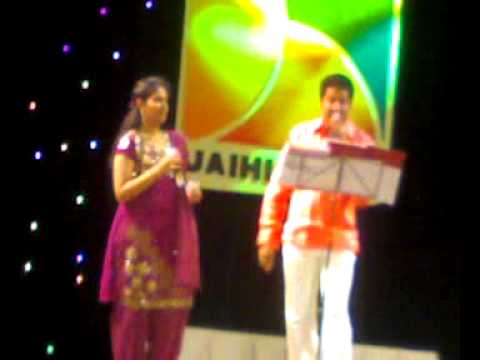 Daddy Mummy veetil illai Rashmi Vijayan and Biju Narayanan ,for Jai Hind TV,Dubai 09052009