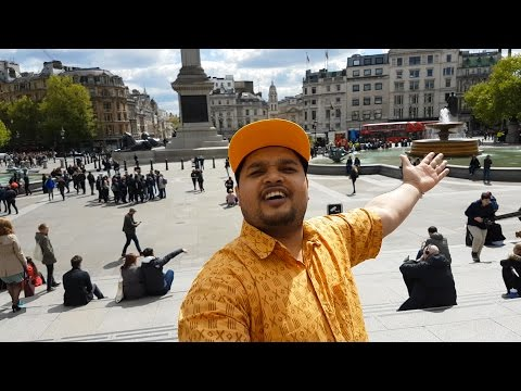 Rayhan Vlog Three: Trafalgar Square and National Gallery | Bangla Vlog
