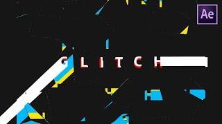 Stretchy Glitch Tekst Animatie in After Effects - Na-Effecten Tutorial (GEEN plug-in VEREIST)