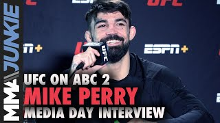 'Platinum Papa' Mike Perry Changed Man After Birth Of Son | UFC On ABC 2 Media Day