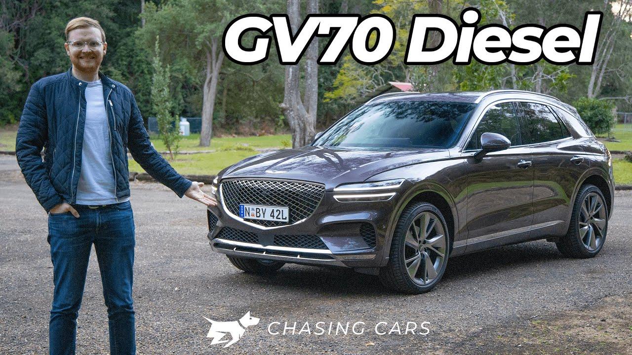 Genesis GV70 diesel 2021 review | better than an X3 or GLC?