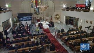 Wizyta papieża Franciszka w Macedonii Północnej: Spotkanie z kapłanami,