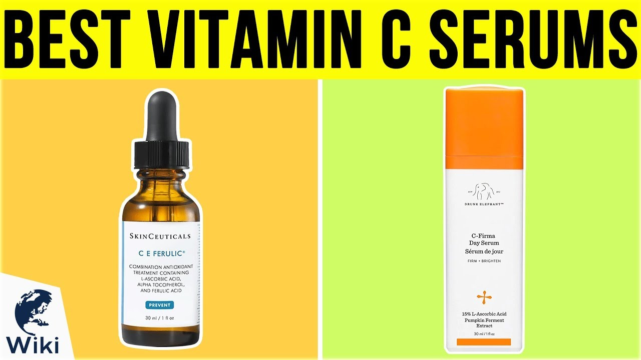 Top 10 Vitamin C Serums of 2019 | Video Review