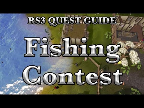 RS3: Fishing Contest 2019 Quest Guide - RuneScape