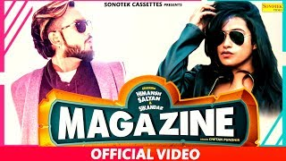 Magazine Official Himaansh Salyan Ravya Sheikh Sikandar New Punjabi Songs 2019 Sonotek