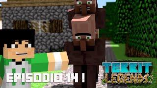 Tekkit Legends | Cadê as vilas? | #14