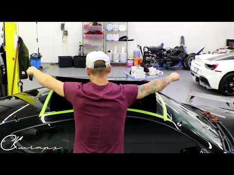 Super Detailed:  HOW-TO: Vinyl Wrap your car roof with Carbon Fiber