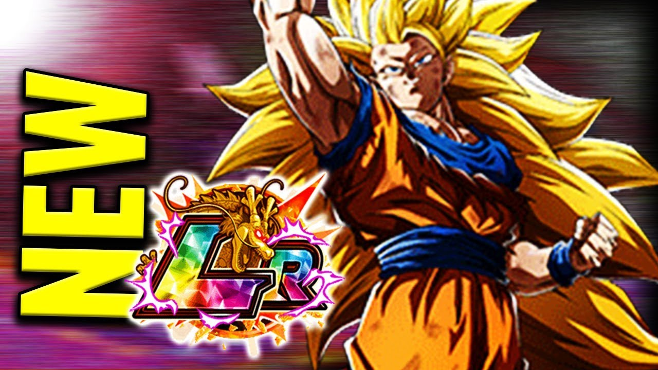 Insanely Op New Lr Super Saiyan 3 Goku W Dragon Fist Dragon Ball Z Dokkan Battle Youtube