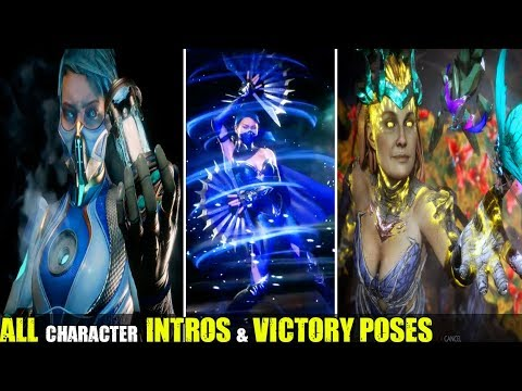 Mortal Kombat 11 – Showcase All Character Intros & Victory Poses – MK11