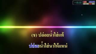 ปล่อยน้ำใส่นาน้อง - (เพชร สหรัตน์ Feat.แพรวพราว แสงทอง) [คาราโอเกะ]