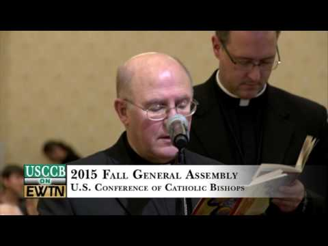 US Bishops' Conference - 2015-11-17- Fall General Assembly, Tuesday Afternoon