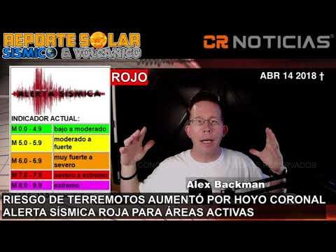 (((ALERTA SÍSMICA ROJA))) MEXICO EN ALERTA ABR 14 AL 17 2018